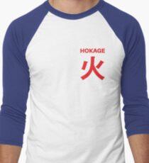 Hokage T-Shirt Men's Baseball ¾ T-Shirt