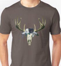 Bohemian Deer Head Skull T-Shirt