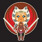 Ahsoka the padawan chibi by enriquev242