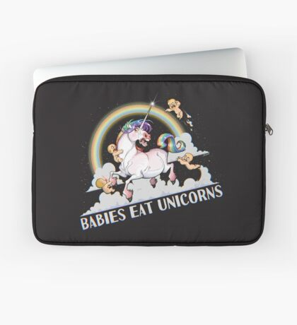 Babies eat Unicorns Laptop Sleeve
