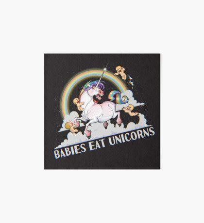 Babies eat Unicorns Art Board