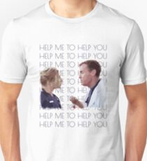 "Scrubs ""Help Me To Help You"" Unisex T-Shirt"