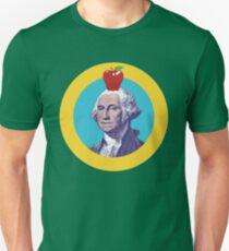 Washington Apple Flagge Slim Fit T-Shirt