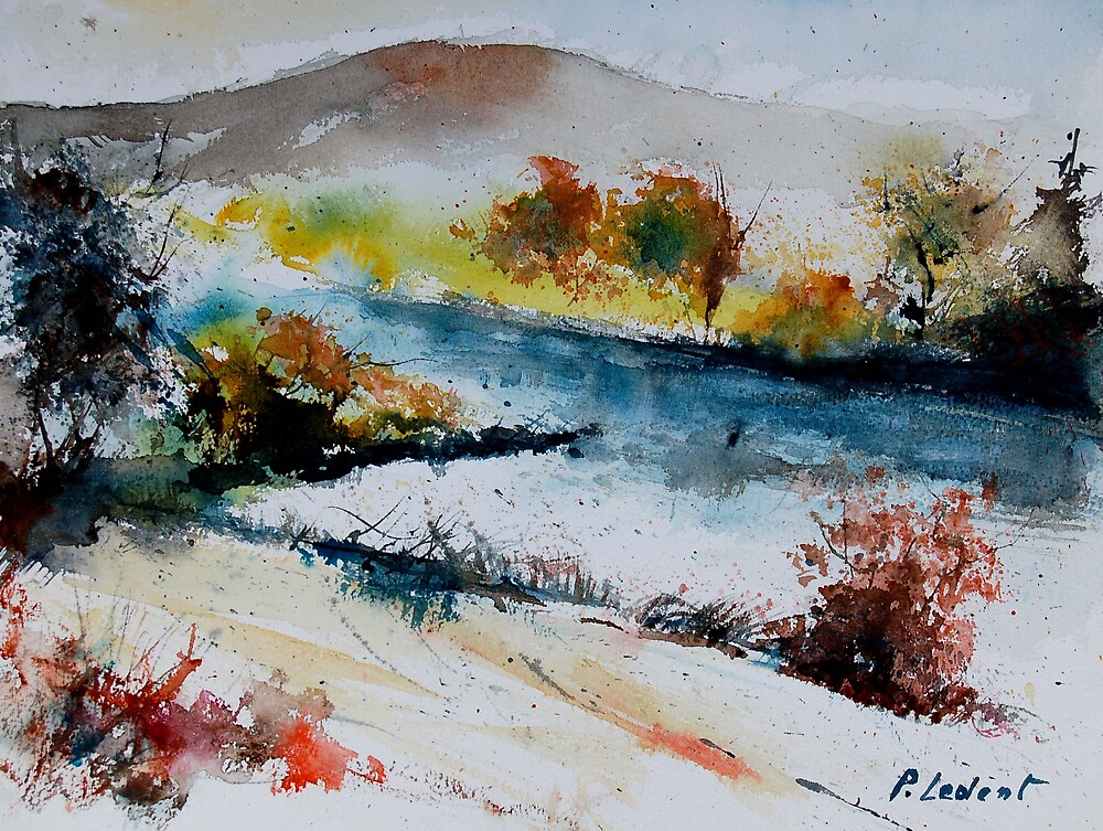 watercolor 011008 by calimero