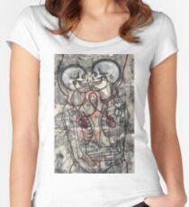 A Forbidden Love. Women's Fitted Scoop T-Shirt