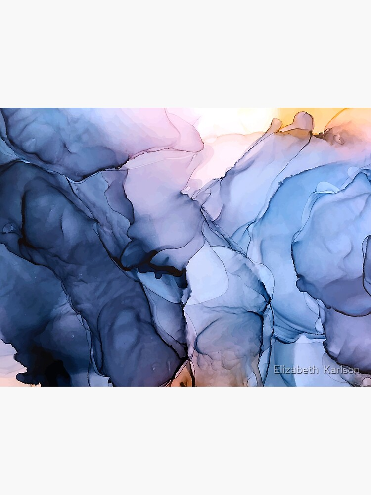 Captivating 1 - Alcohol Ink Painting by LSchulz19