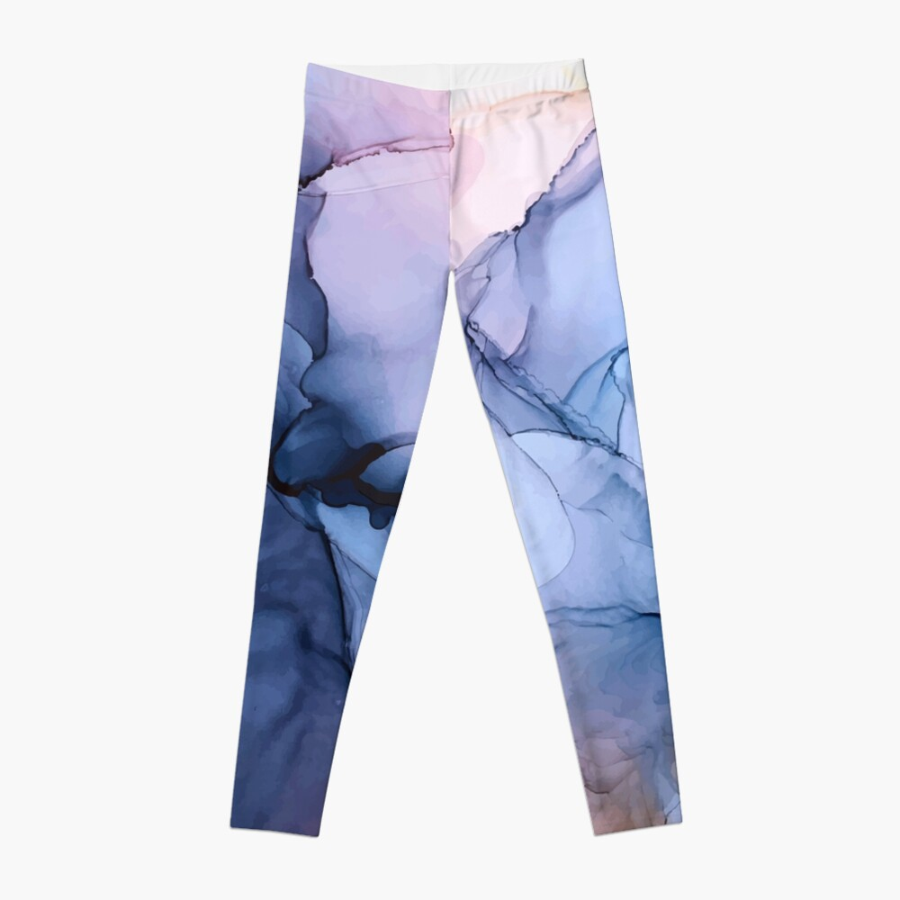 Captivating 1 - Alcohol Ink Painting Leggings