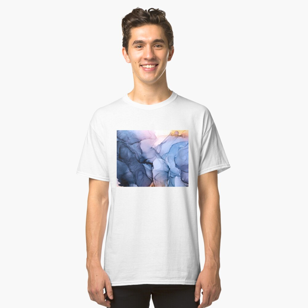 Captivating 1 - Alcohol Ink Painting Classic T-Shirt