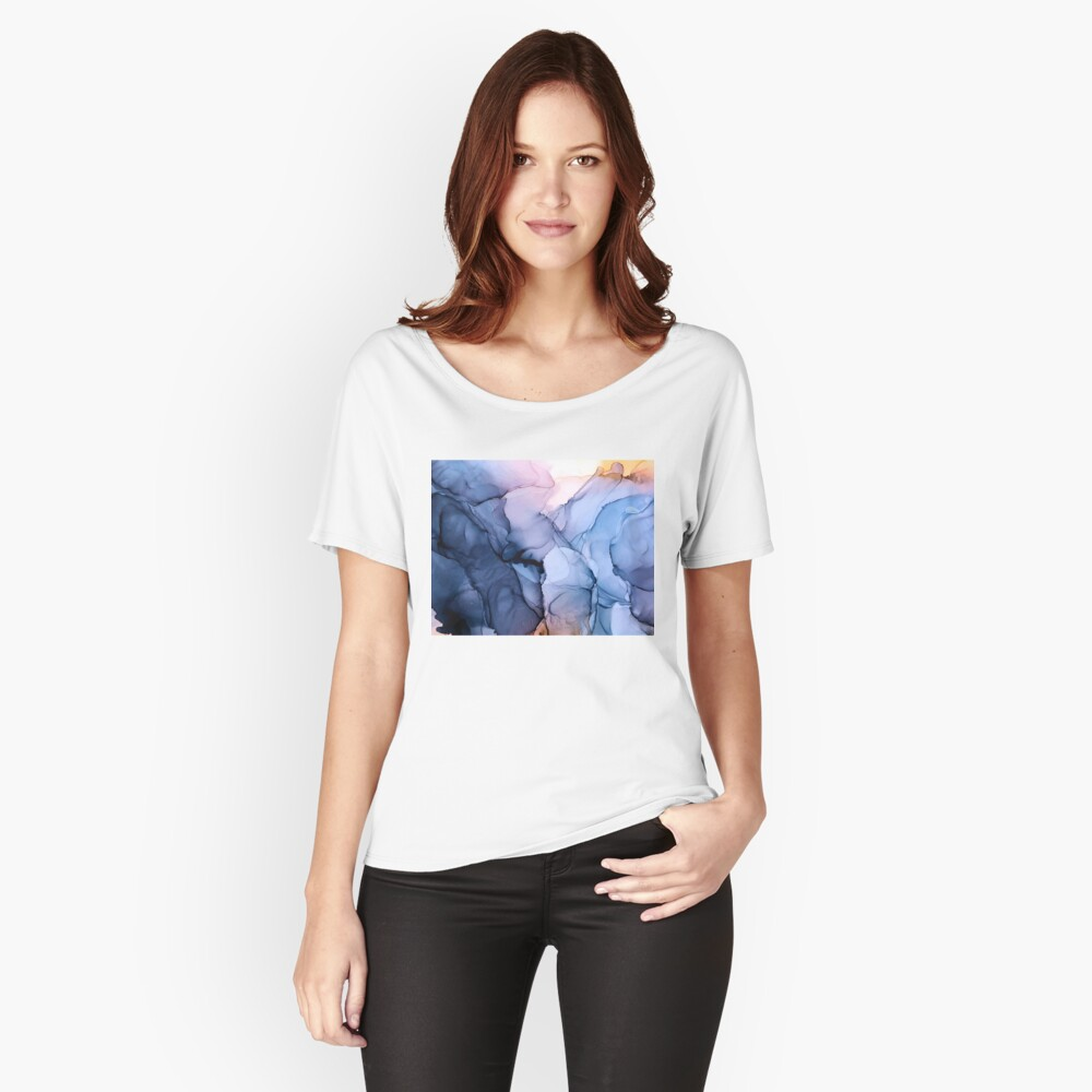 Captivating 1 - Alcohol Ink Painting Relaxed Fit T-Shirt