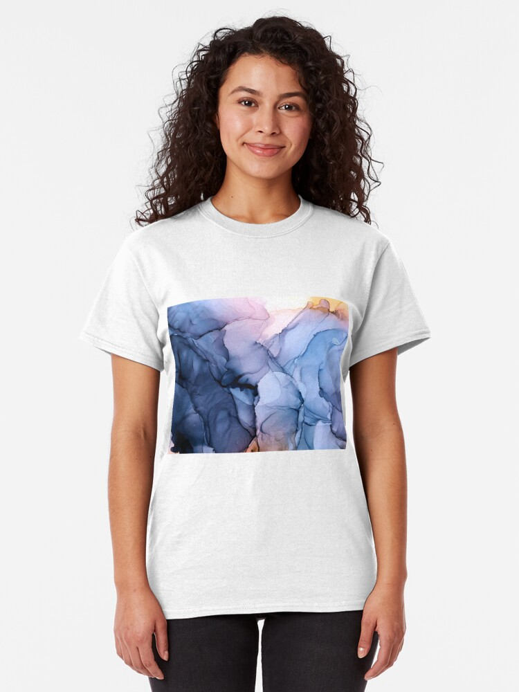 Alternate view of Captivating 1 - Alcohol Ink Painting Classic T-Shirt