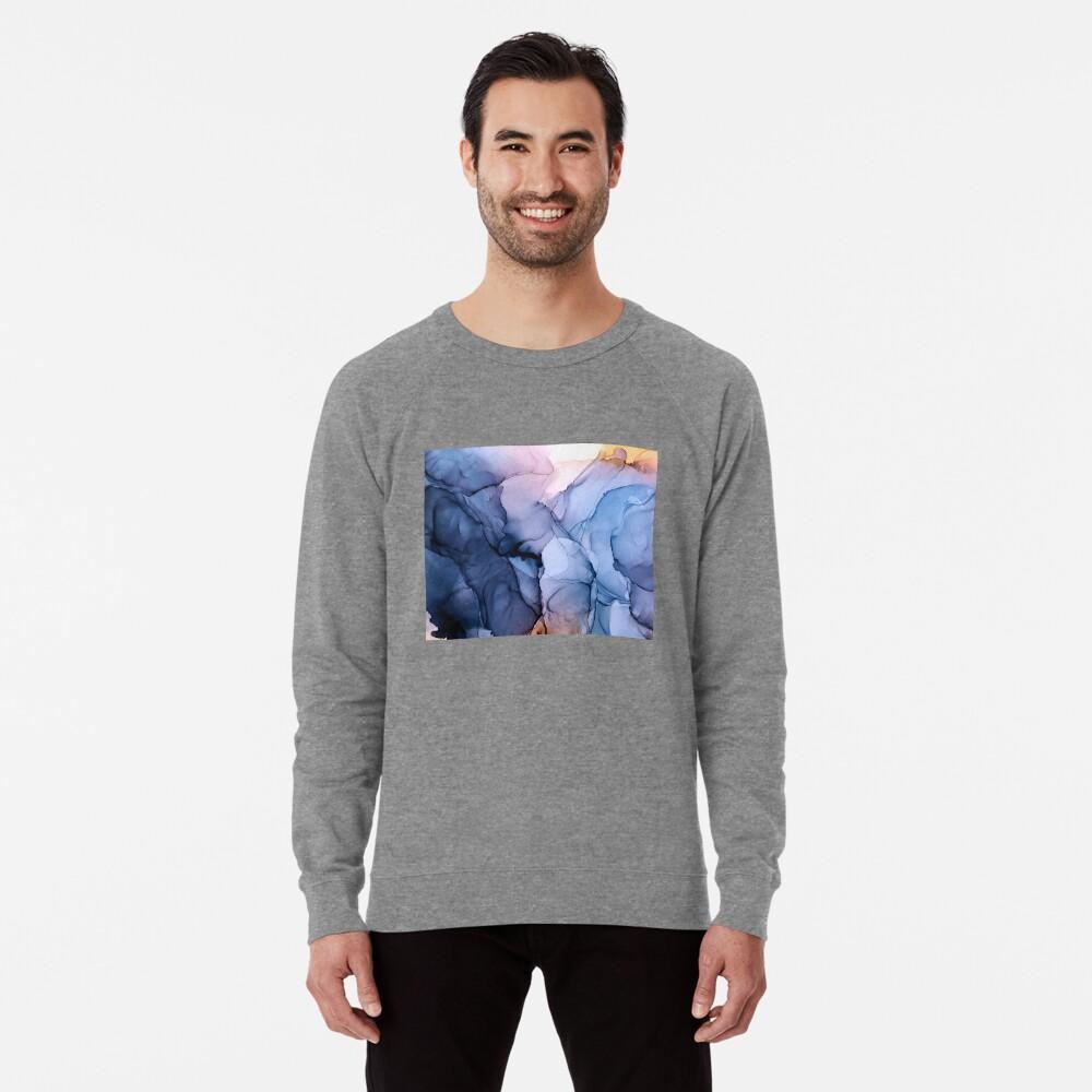 Captivating 1 - Alcohol Ink Painting Lightweight Sweatshirt
