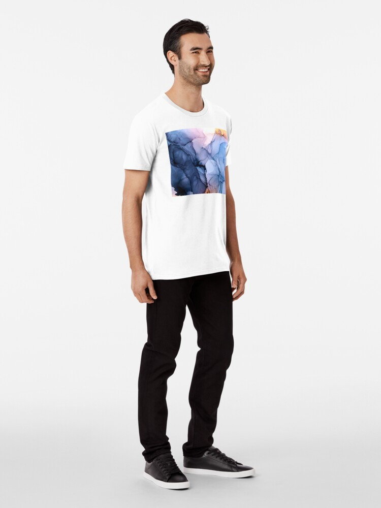 Alternate view of Captivating 1 - Alcohol Ink Painting Premium T-Shirt