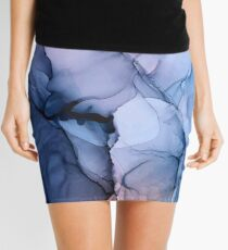 Captivating 1 - Alcohol Ink Painting Mini Skirt