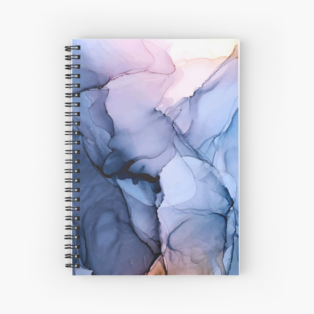 Captivating 1 - Alcohol Ink Painting Spiral Notebook