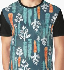 Watercolor carrot repeat Graphic T-Shirt