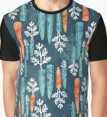 Watercolor carrot repeat Graphic T-Shirt