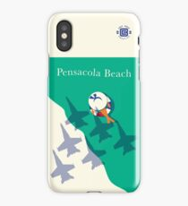 """Blues Over the Beach"" Full Wrap iPhone Case/Skin"