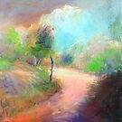 Merri Creek Pastel Moods by Sue Wellington