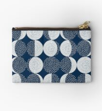 Moon Phases / repeat pattern Studio Pouch