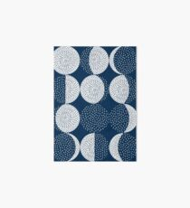 Moon Phases / repeat pattern Art Board