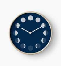 Moon Phases / repeat pattern Clock