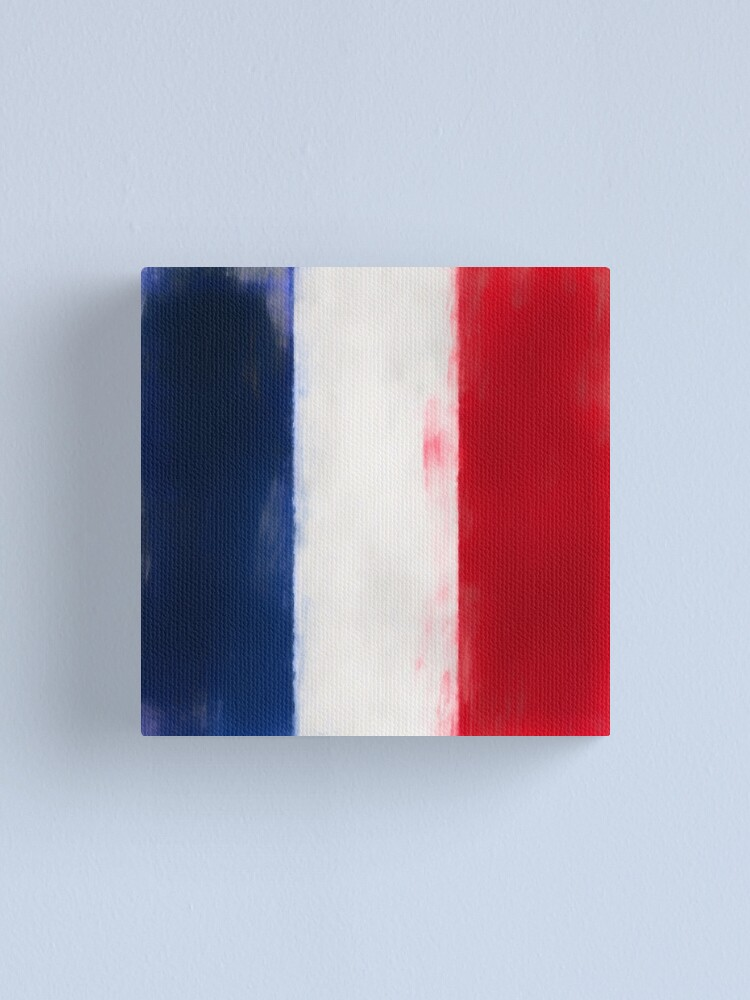 Alternate view of French Flag No. 1, Series 1 Canvas Print
