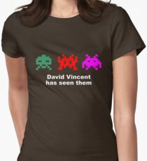 David Vincent has seen them parody Invaders Women's Fitted T-Shirt