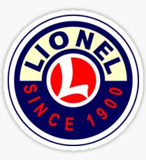 Lionel Vintage Scale Model Trains USA Sticker
