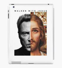 Walken with Jesus iPad Case/Skin