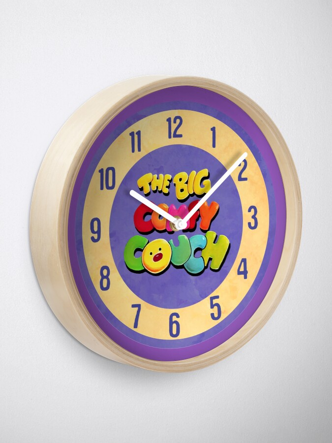 Stupendous The Big Comfy Couch Clock Clock Creativecarmelina Interior Chair Design Creativecarmelinacom