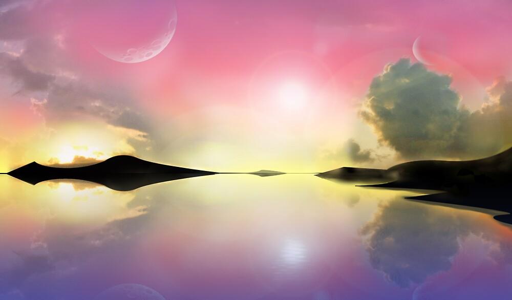 Sunset and sunrise by Robert Burton