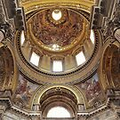 The Cupola Of St  Agnese by Fara