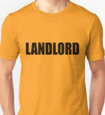 Landlord Halloween Costume Party Cute & Funny T shirt Halloween Costume Party Cute & Funny Costume T Shirt Cute Cheap Costume Halloween Shirt Funny Gift T-Shirt