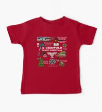 Christmas Vacation Collage Baby Tee