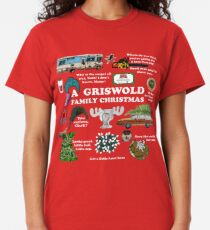 Christmas Vacation Collage Classic T-Shirt