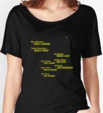 Crossroads Motel Titles Women's Relaxed Fit T-Shirt