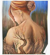 The Girl with The Tree Tattoo Poster