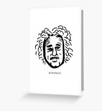Einstein. Greeting Card