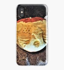 Heal our Land Carved Pumpkin  iPhone Case/Skin