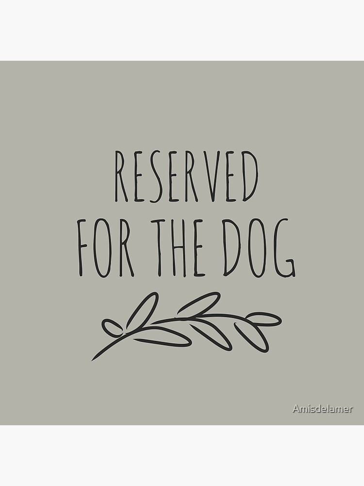 Reserved for the dog grey by Amisdelamer