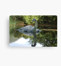Is this really Nessy ????? Canvas Print
