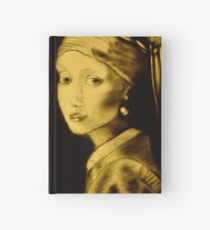 Girl with Perl earring  Hardcover Journal