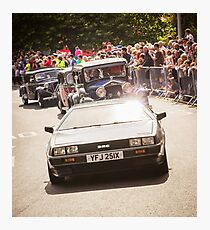 Delorean DMC-12 Classic Car  Photographic Print