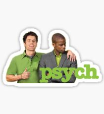 Psych Shawn and Gus Sticker