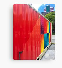 Colourful Shipping Container Canvas Print