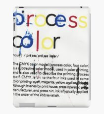 CMYK Series Process Color by timamerine iPad Case/Skin