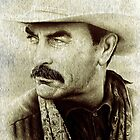 Tom Selleck  by arfineart