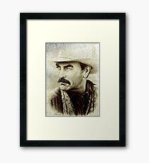 Tom Selleck  Framed Print
