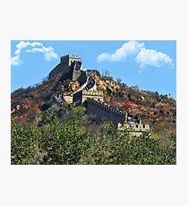 万里长城 GREAT WALL OF CHINA 万里长城  VARIOUS APPAREL Photographic Print