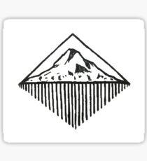 Mt Hood Geometric Sticker
